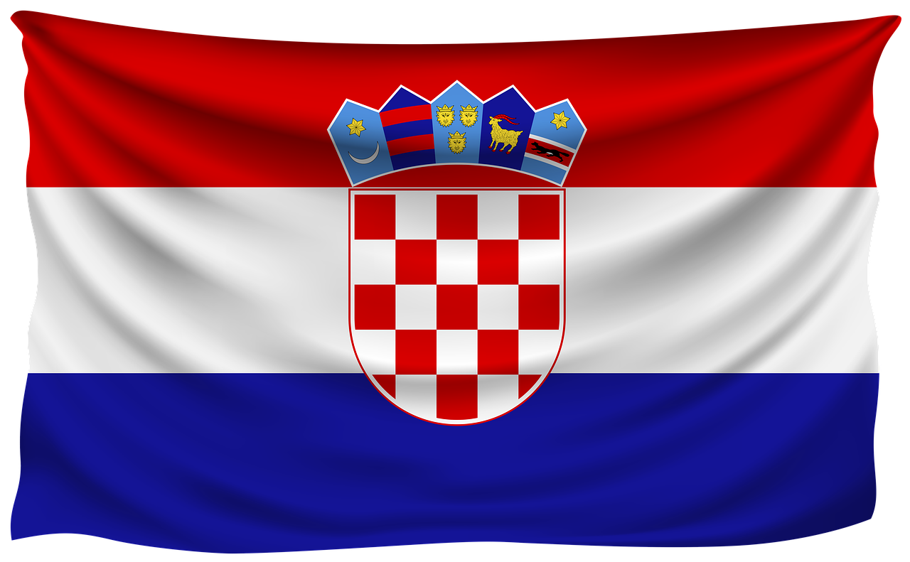 croatia flag 3558117 1280